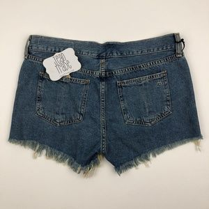 rag & bone Shorts - NWT rag & bone jean Winnie Cut Off Shorts